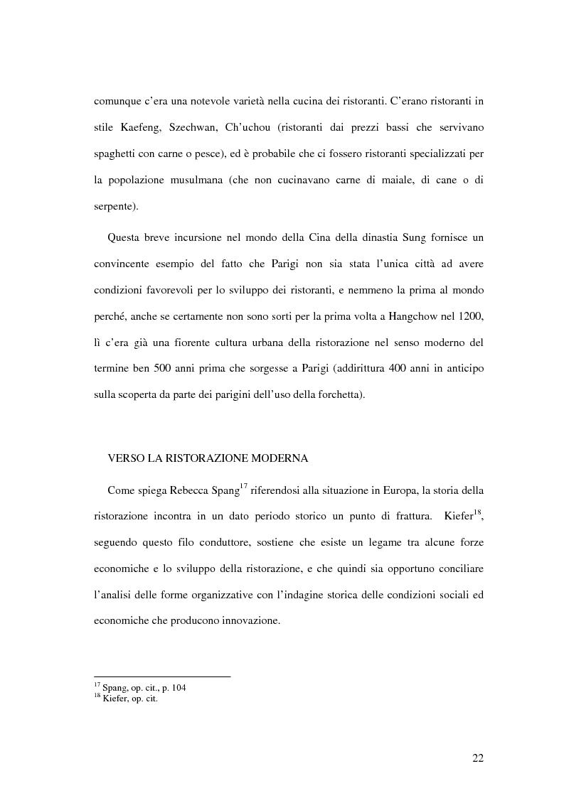 Anteprima della tesi: Il ristorante come sistema organizzativo, Pagina 14
