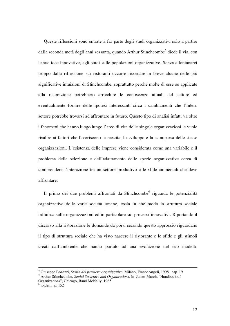 Anteprima della tesi: Il ristorante come sistema organizzativo, Pagina 4