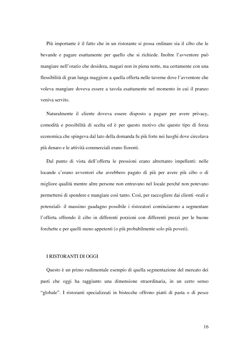 Anteprima della tesi: Il ristorante come sistema organizzativo, Pagina 8