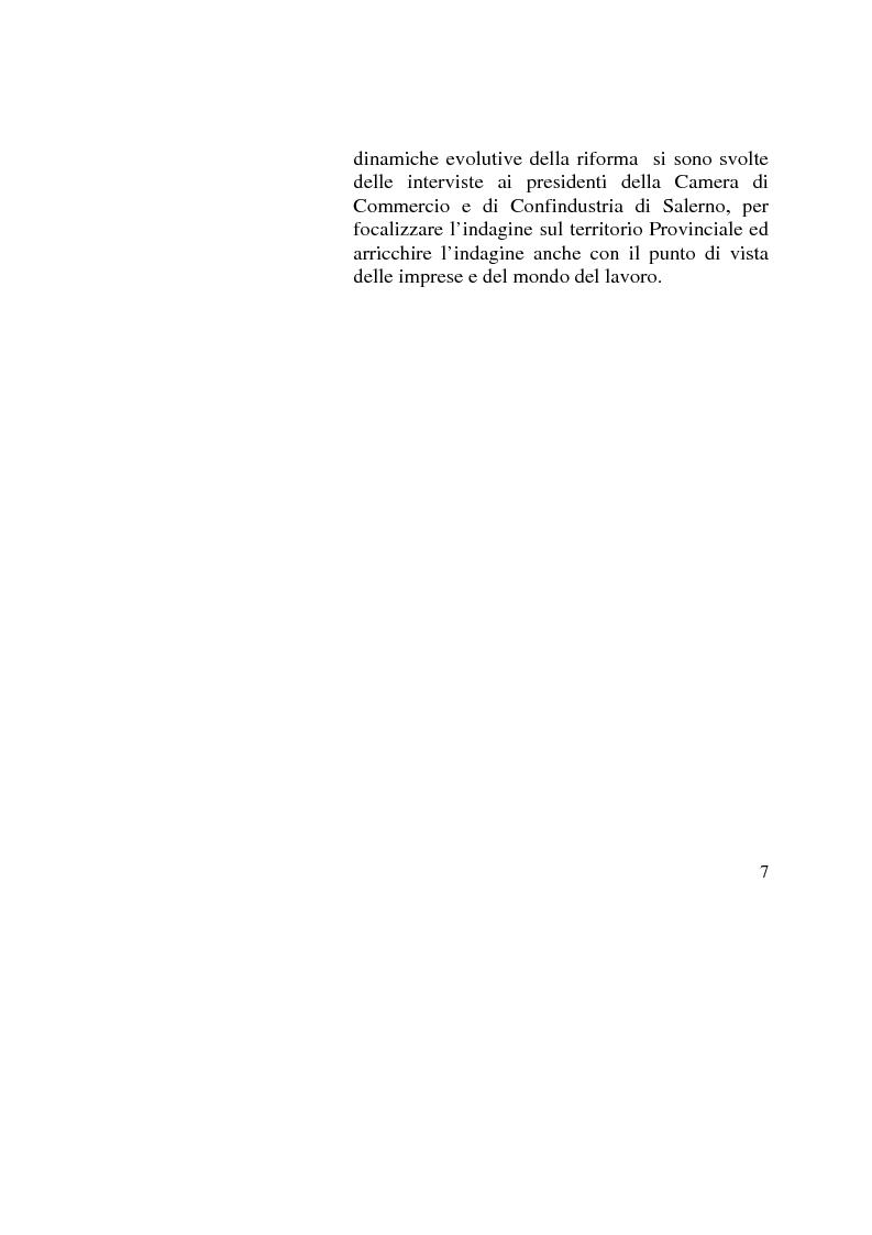 Anteprima della tesi: Capitale umano: nuove opportunità della riforma universitaria, Pagina 3
