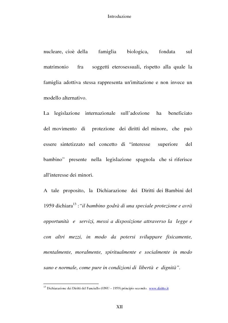 Anteprima della tesi: L'adozione per gli omosessuali tra direttiva europea e orientamento interno: esperienze a confronto, Pagina 12