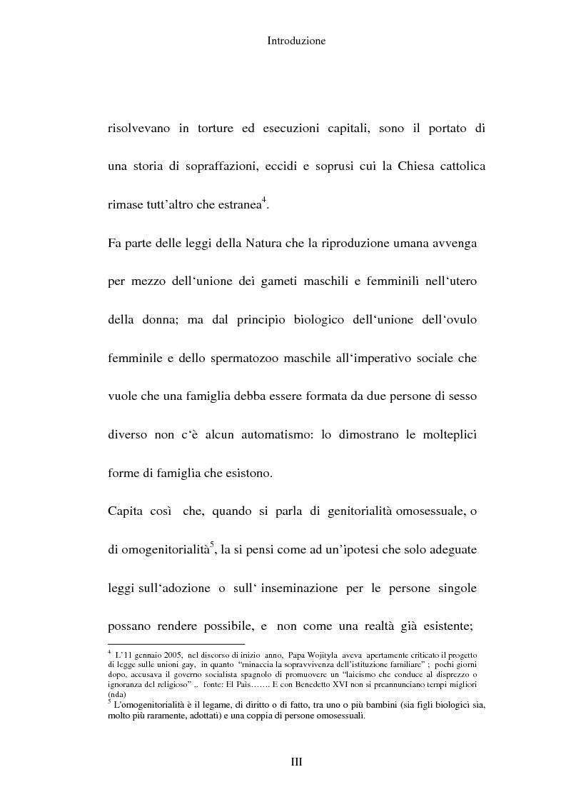 Anteprima della tesi: L'adozione per gli omosessuali tra direttiva europea e orientamento interno: esperienze a confronto, Pagina 3