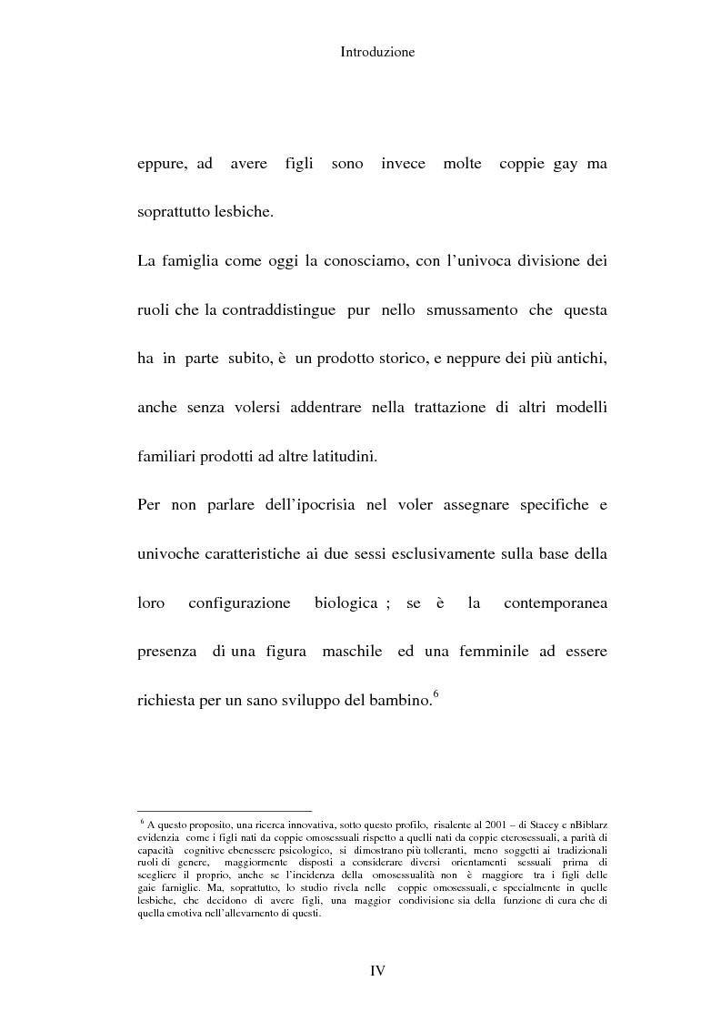 Anteprima della tesi: L'adozione per gli omosessuali tra direttiva europea e orientamento interno: esperienze a confronto, Pagina 4