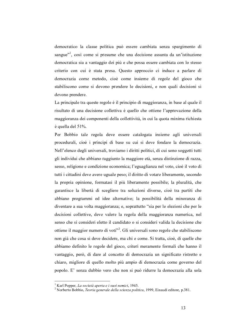 Anteprima della tesi: Teoria del voto ed istituzioni: analisi dei criteri di voto del trattato di Nizza e del trattato di Lisbona, Pagina 7