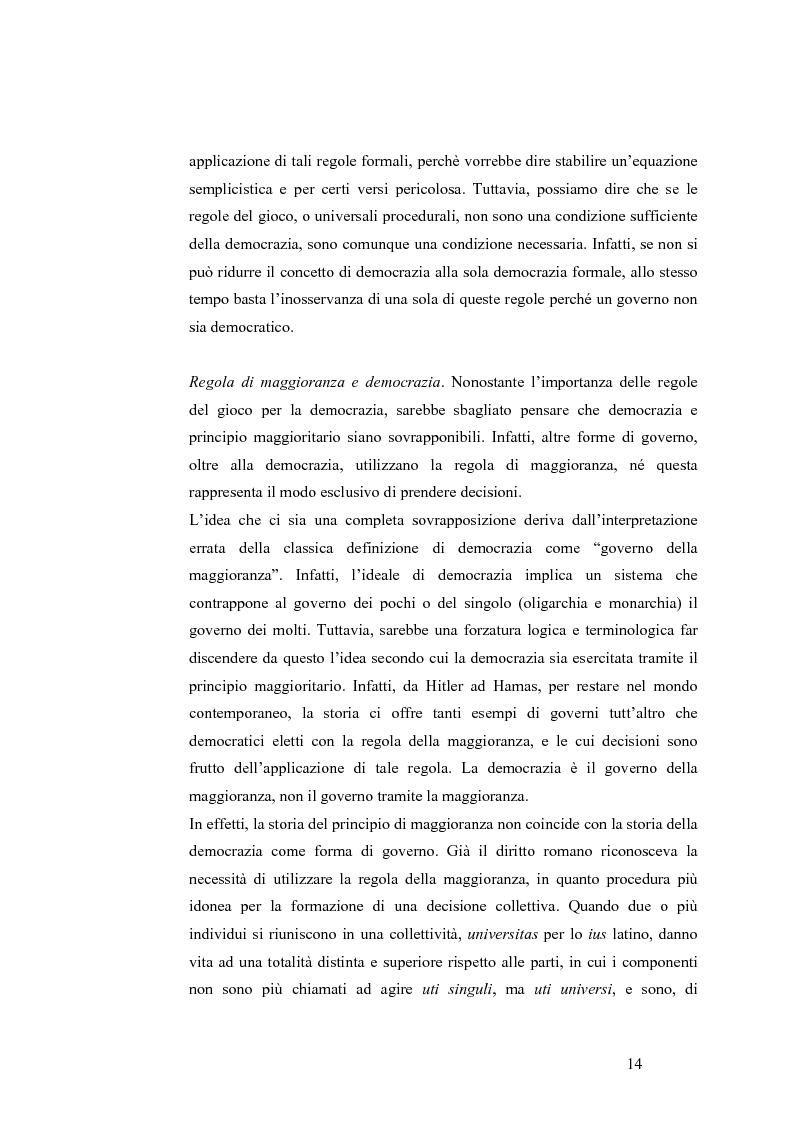 Anteprima della tesi: Teoria del voto ed istituzioni: analisi dei criteri di voto del trattato di Nizza e del trattato di Lisbona, Pagina 8