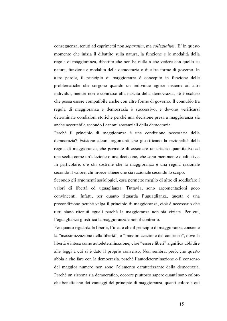 Anteprima della tesi: Teoria del voto ed istituzioni: analisi dei criteri di voto del trattato di Nizza e del trattato di Lisbona, Pagina 9