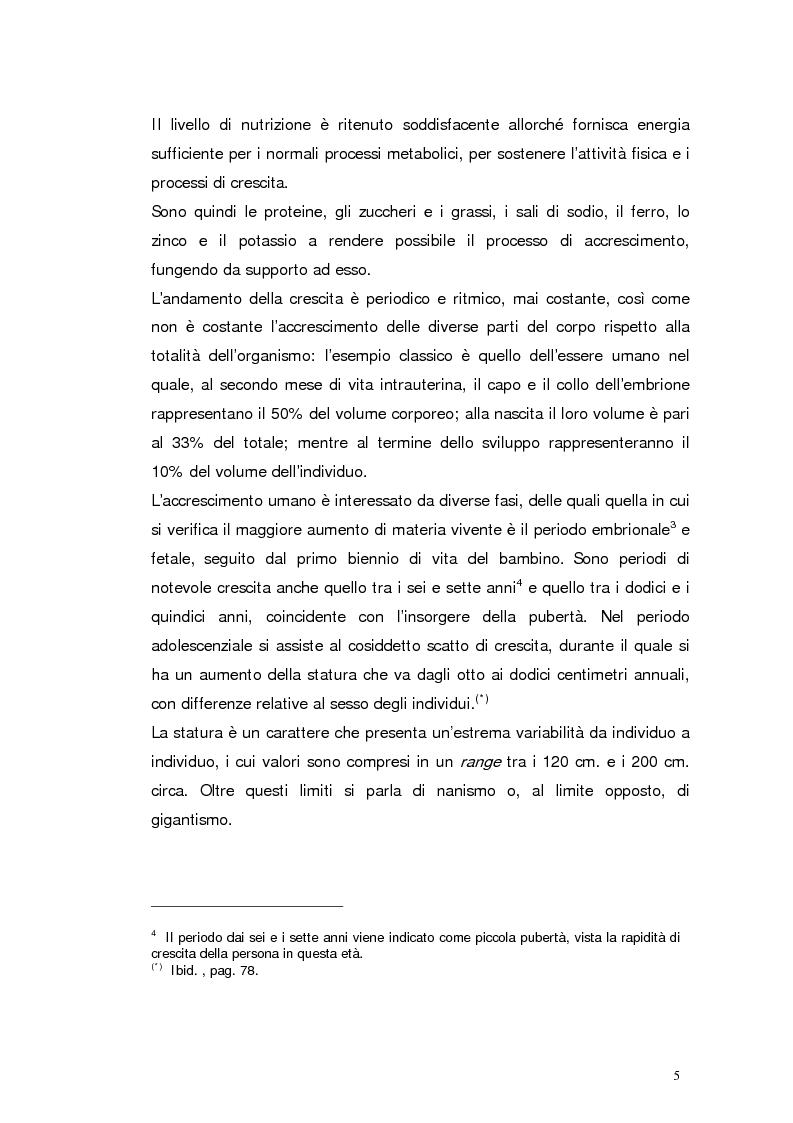 Anteprima della tesi: Il nanismo da deprivazione affettiva. Natura o Cultura?, Pagina 5