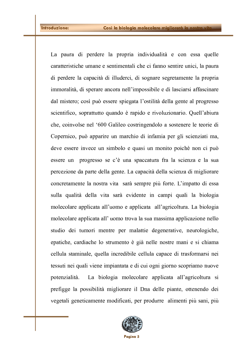 Anteprima della tesi: Applicazione dell'inattivazione genica nel campo della ricerca biomedica, Pagina 2