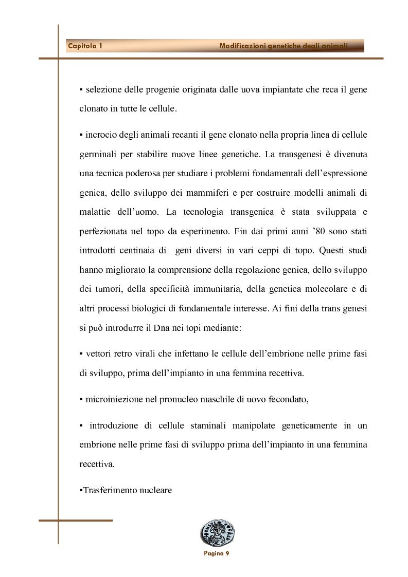 Anteprima della tesi: Applicazione dell'inattivazione genica nel campo della ricerca biomedica, Pagina 6