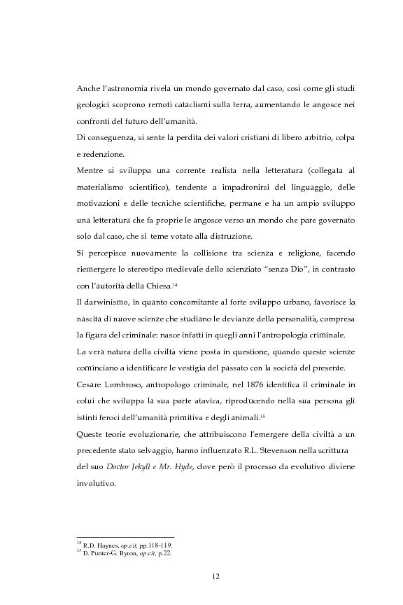 Anteprima della tesi: La figura dello scienziato stregone nella letteratura otto-novecentesca, Pagina 12