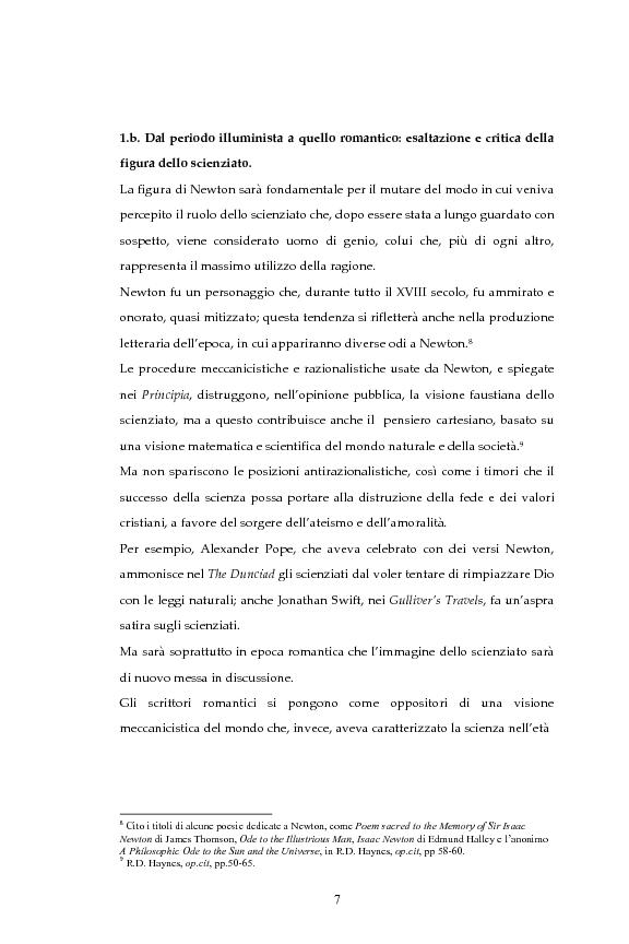 Anteprima della tesi: La figura dello scienziato stregone nella letteratura otto-novecentesca, Pagina 7