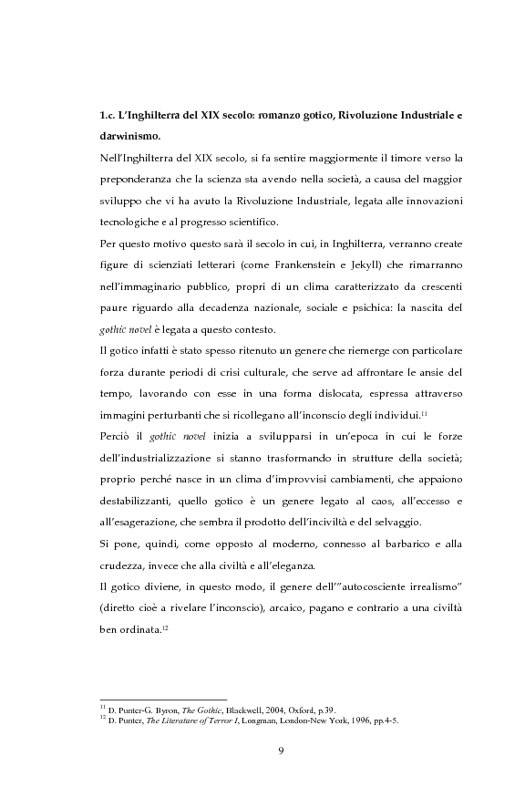 Anteprima della tesi: La figura dello scienziato stregone nella letteratura otto-novecentesca, Pagina 9