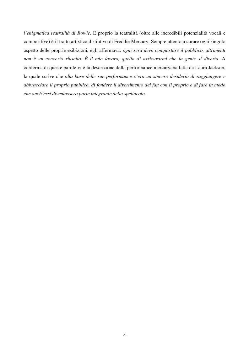 Anteprima della tesi: Freddie Mercury - Analisi sociosemiotica di una rockstar, Pagina 2