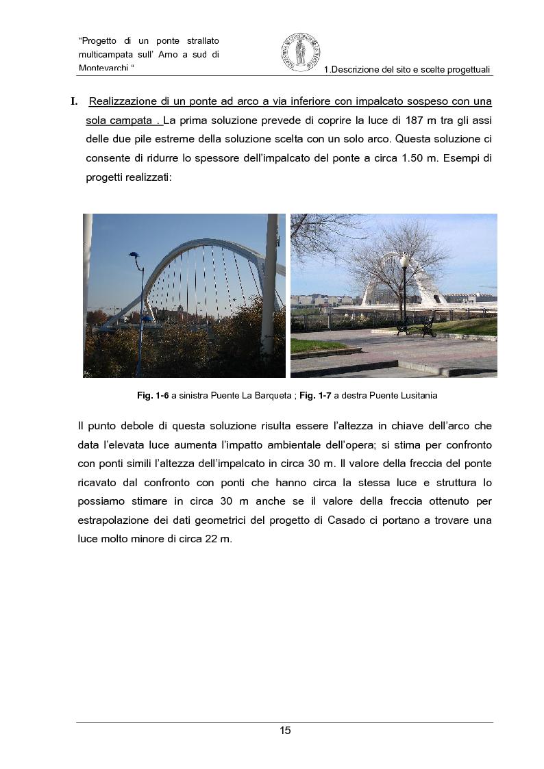 Anteprima della tesi: Progetto di un ponte strallato multicampata sull'Arno a nord di Montevarchi (AR), Pagina 9
