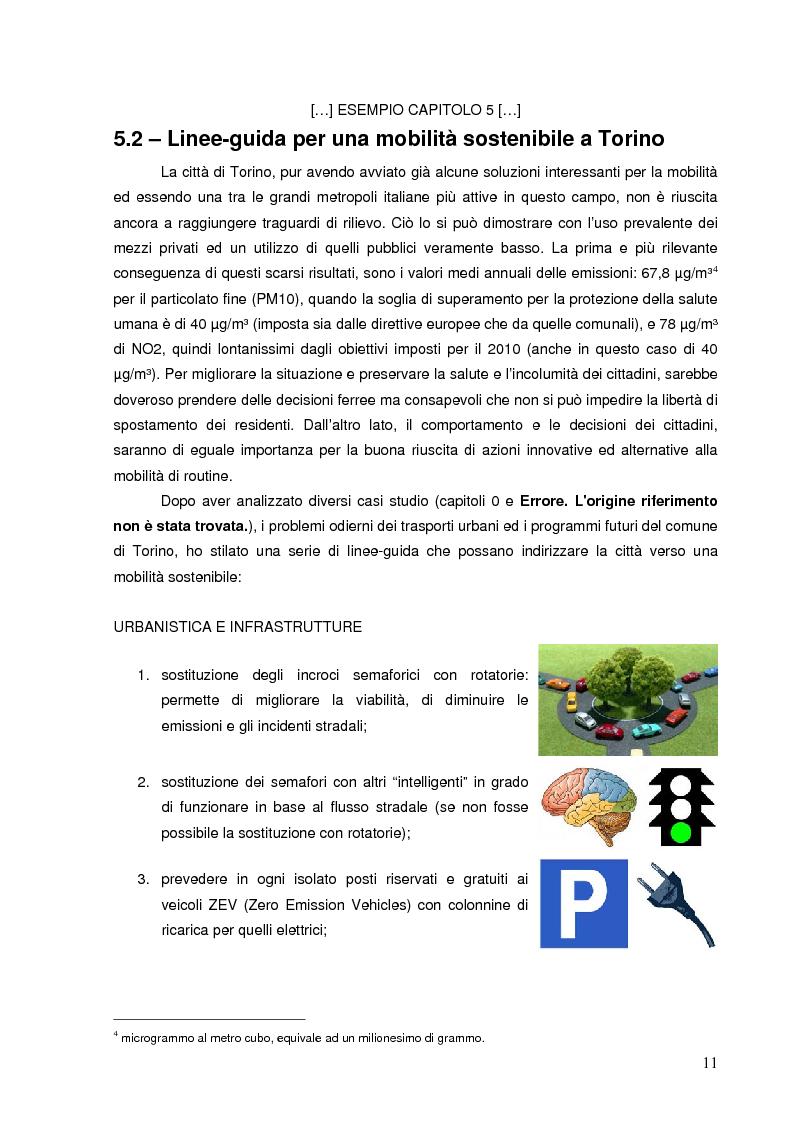 Anteprima della tesi: Mobilità sostenibile: linee-guida per la città di Torino e proposte per raggiungere il Design Center a Mirafiori, Pagina 11