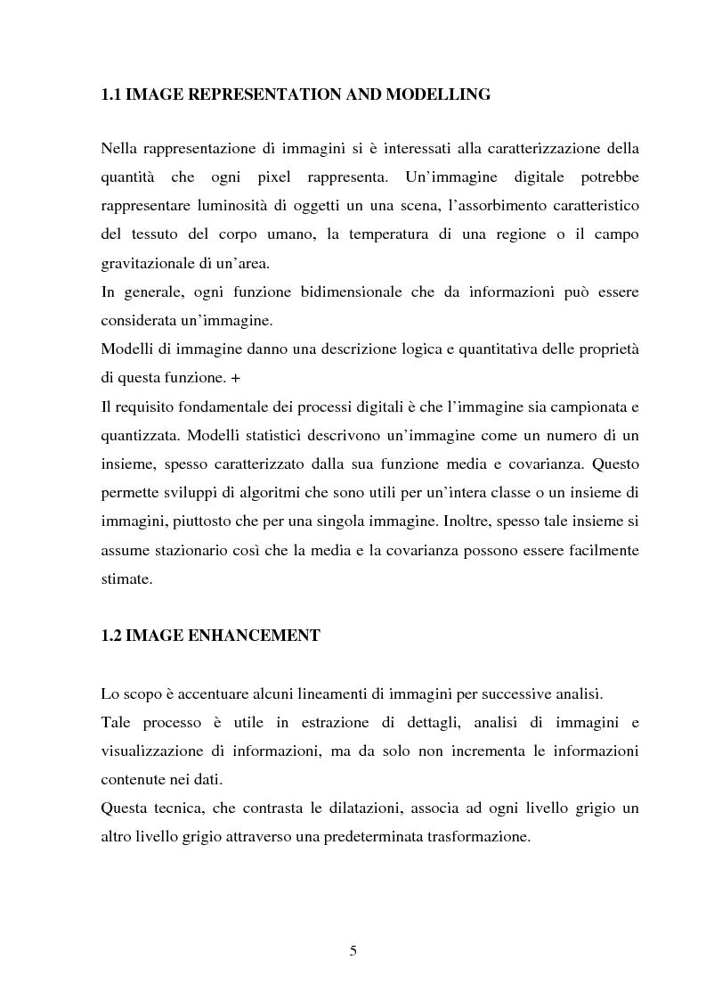 Anteprima della tesi: Rilassamento stocastico, distribuzioni di Gibbs e restauro bayesiano di immagini, Pagina 3