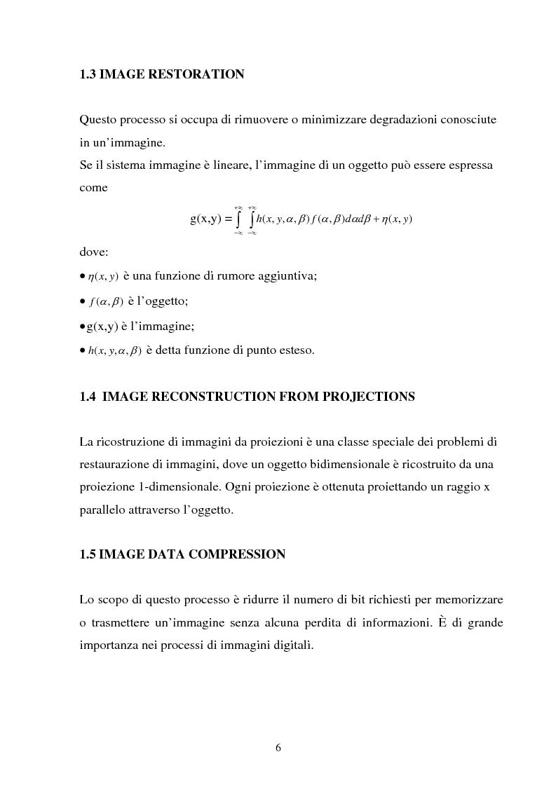 Anteprima della tesi: Rilassamento stocastico, distribuzioni di Gibbs e restauro bayesiano di immagini, Pagina 4