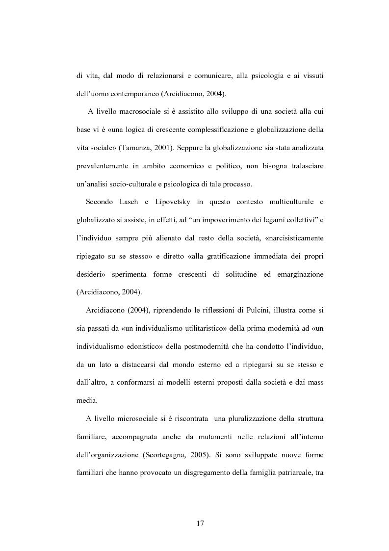 Anteprima della tesi: La psicologia dell'anziano: prospettive interrelazionali, Pagina 13