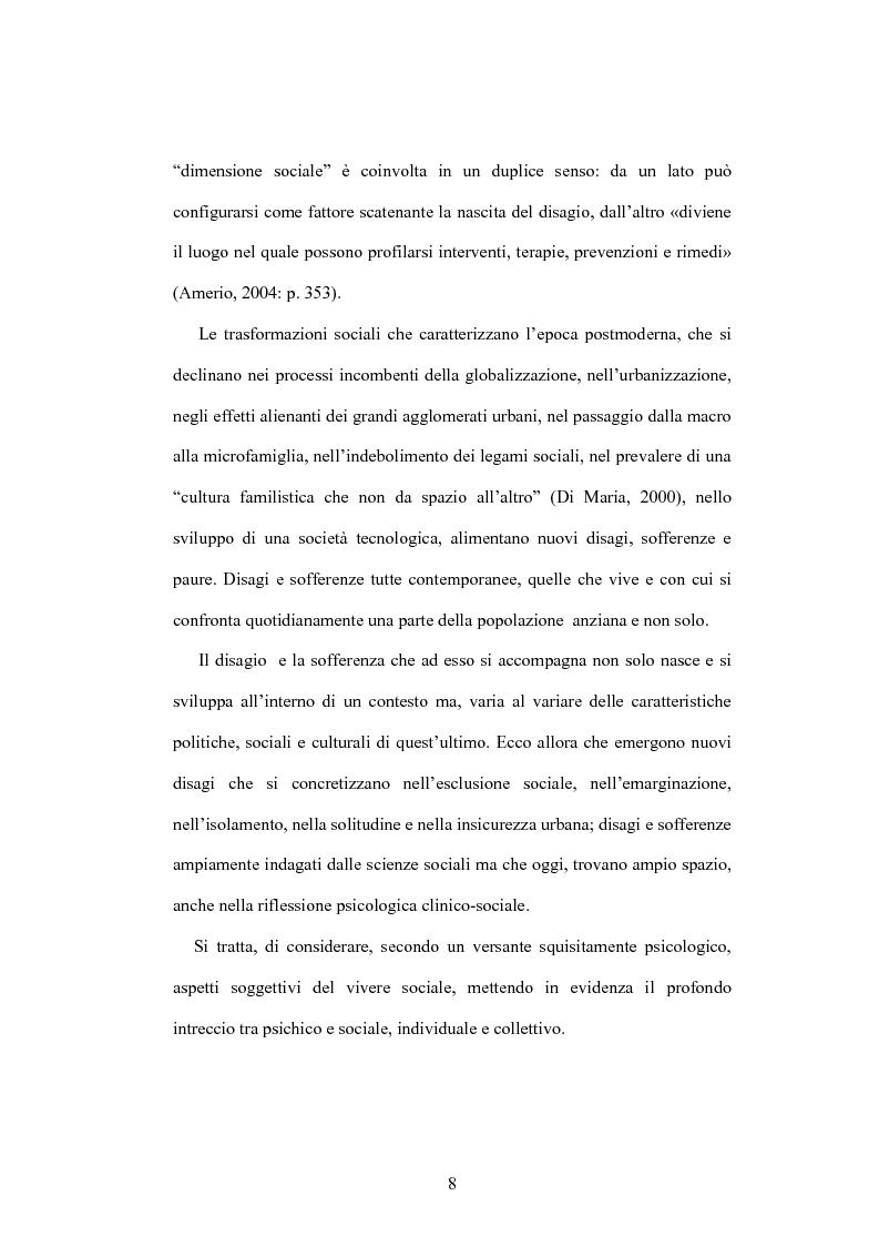 Anteprima della tesi: La psicologia dell'anziano: prospettive interrelazionali, Pagina 4