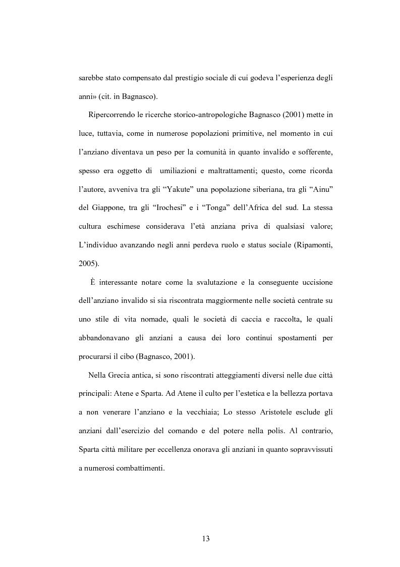 Anteprima della tesi: La psicologia dell'anziano: prospettive interrelazionali, Pagina 9