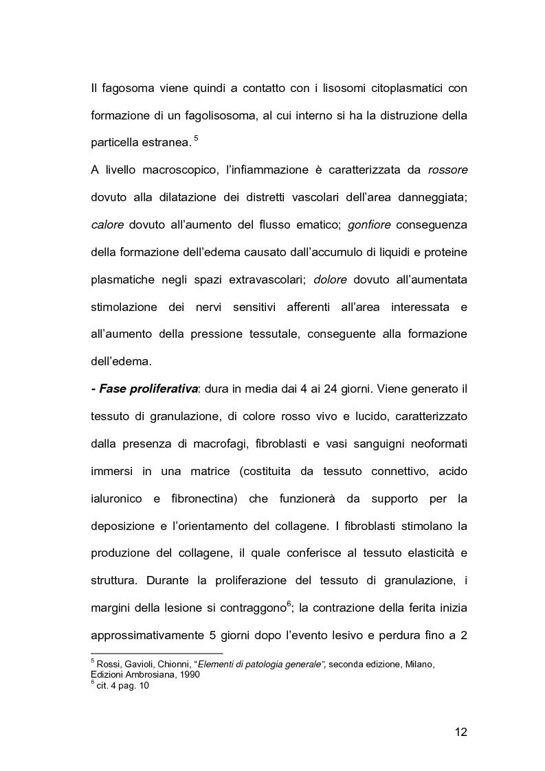 Anteprima della tesi: Assistenza infermieristica nei pazienti cardiochirurgici con deiscenza della ferita chirurgica sternale, portatori di VAC Terapia, Pagina 8