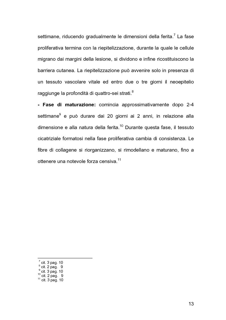 Anteprima della tesi: Assistenza infermieristica nei pazienti cardiochirurgici con deiscenza della ferita chirurgica sternale, portatori di VAC Terapia, Pagina 9