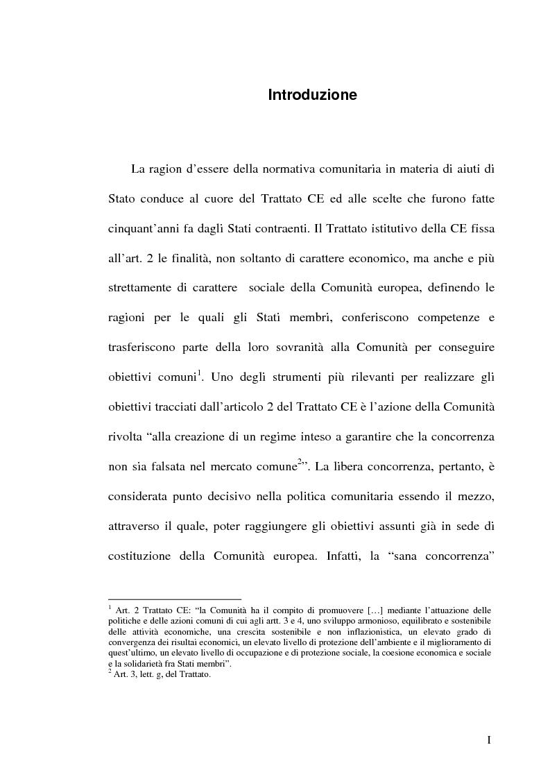 Anteprima della tesi: Gli incentivi all'occupazione, Pagina 1