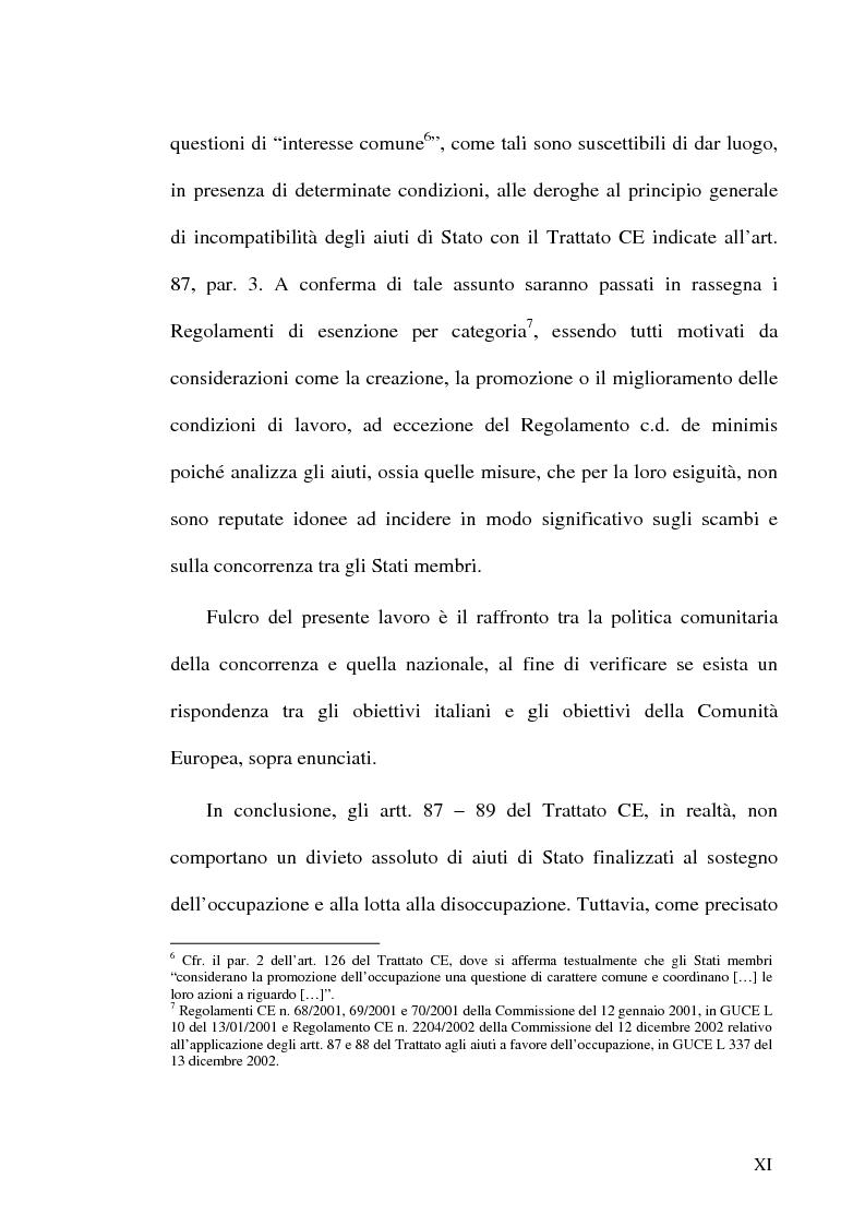 Anteprima della tesi: Gli incentivi all'occupazione, Pagina 11