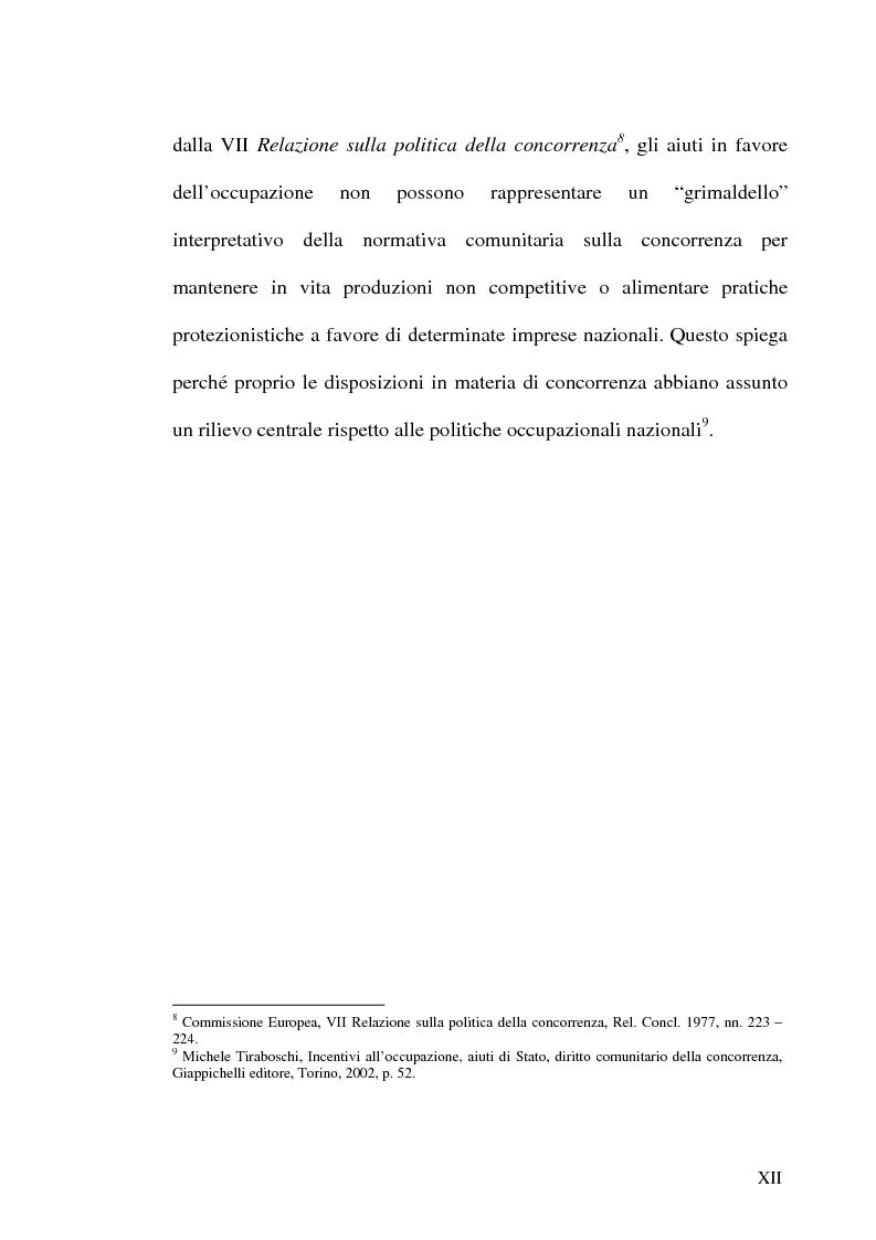 Anteprima della tesi: Gli incentivi all'occupazione, Pagina 12