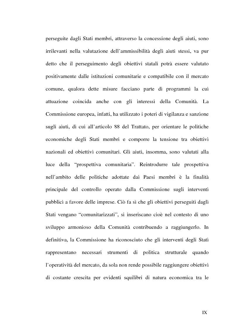 Anteprima della tesi: Gli incentivi all'occupazione, Pagina 9