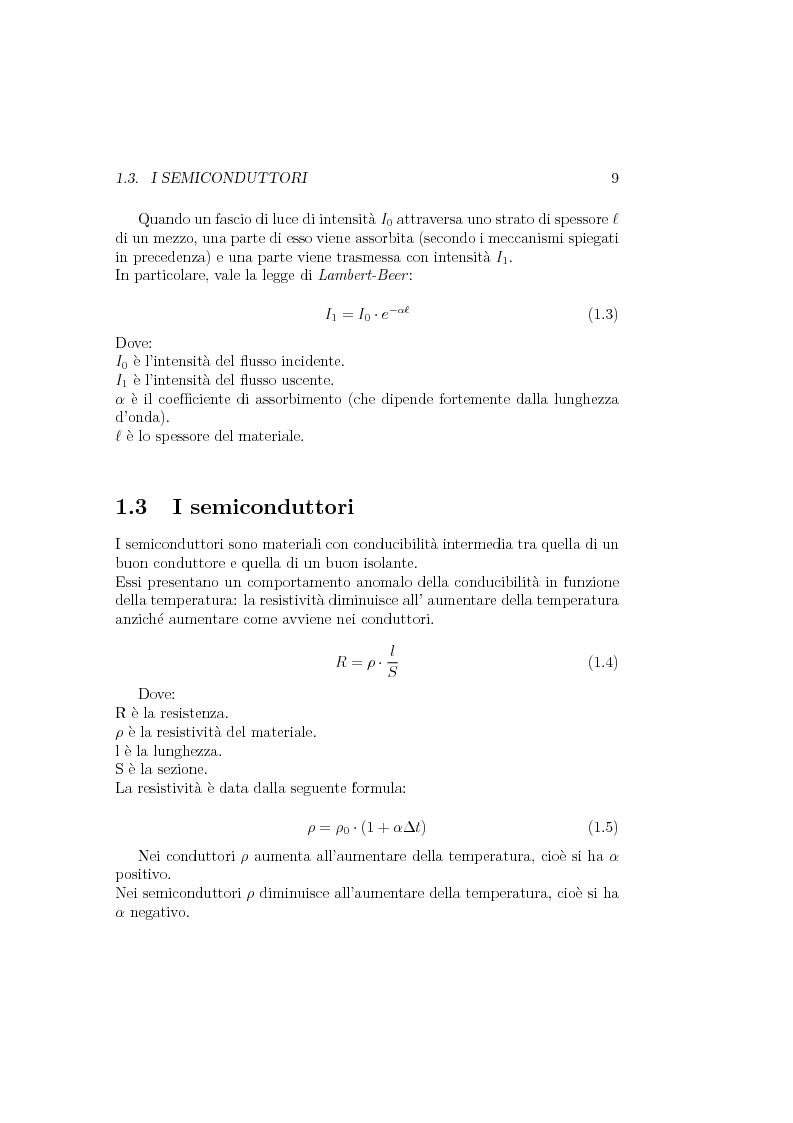 Anteprima della tesi: Progetto e realizzazione di un setup di misura basato su preamplificatore di carica per fotorivelatori in silicio Sipm, Pagina 8