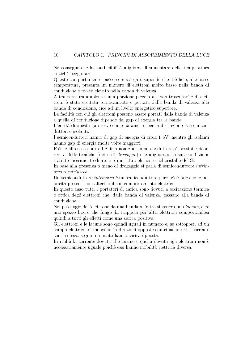 Anteprima della tesi: Progetto e realizzazione di un setup di misura basato su preamplificatore di carica per fotorivelatori in silicio Sipm, Pagina 9