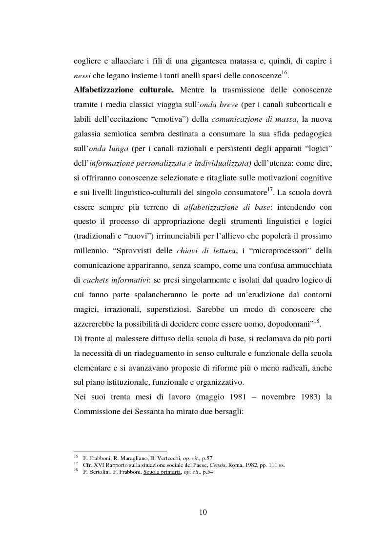 Anteprima della tesi: L'importanza del tirocinio nella scuola d'oggi, Pagina 10