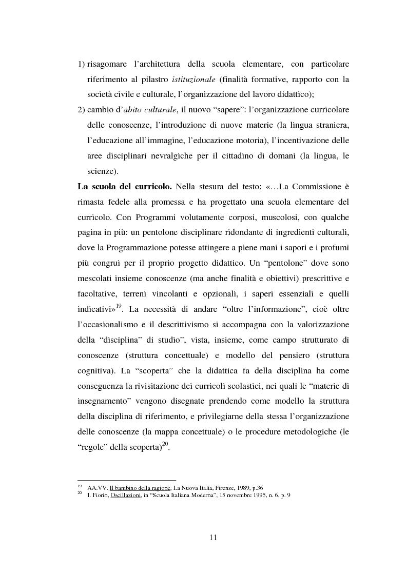 Anteprima della tesi: L'importanza del tirocinio nella scuola d'oggi, Pagina 11
