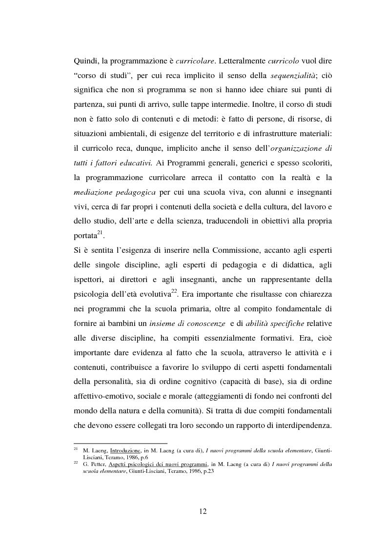 Anteprima della tesi: L'importanza del tirocinio nella scuola d'oggi, Pagina 12