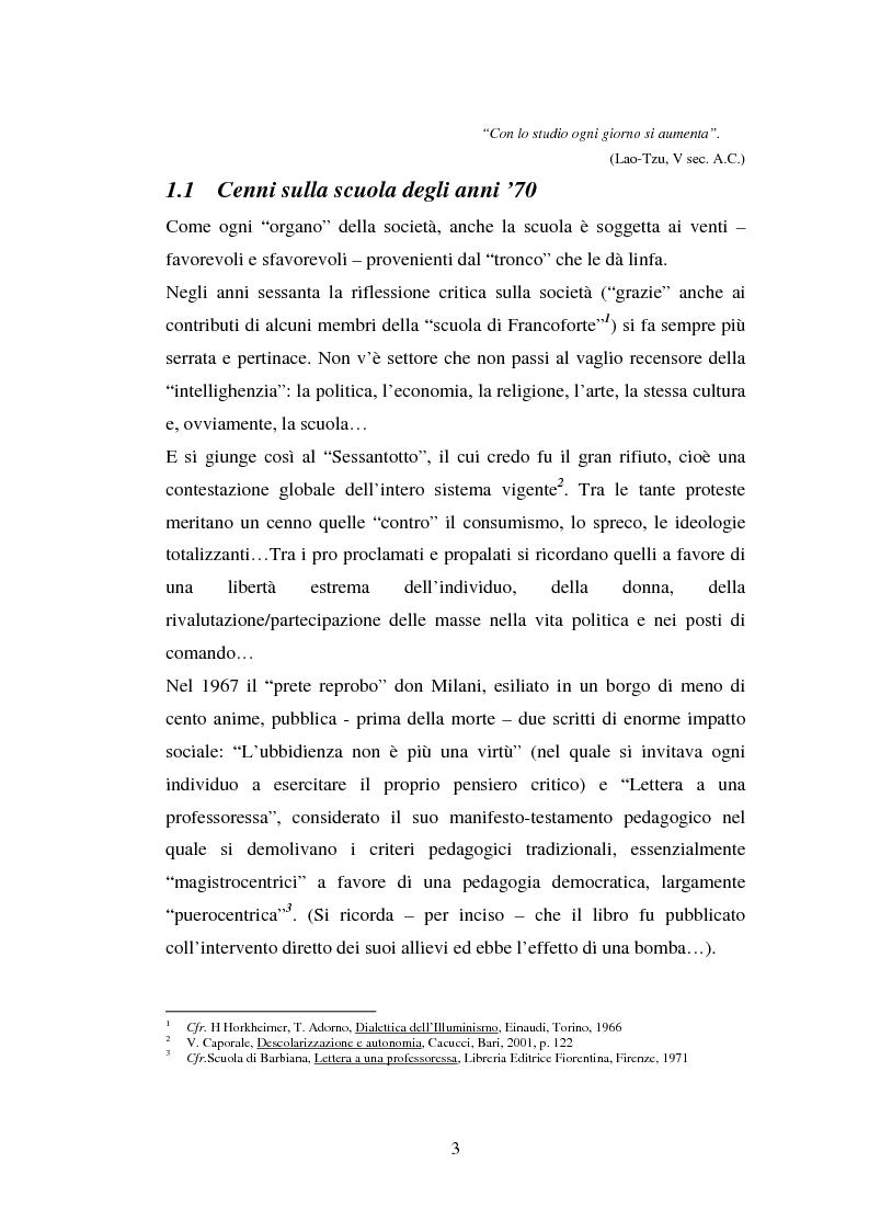Anteprima della tesi: L'importanza del tirocinio nella scuola d'oggi, Pagina 3