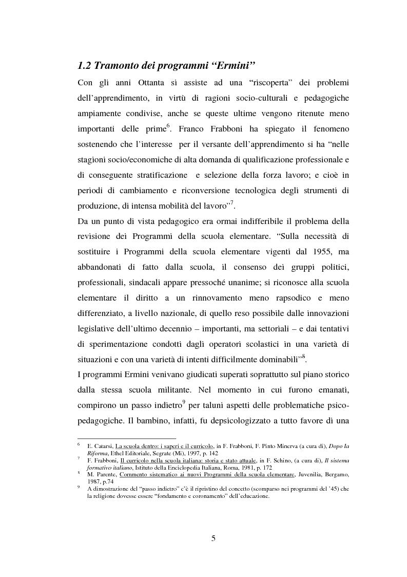 Anteprima della tesi: L'importanza del tirocinio nella scuola d'oggi, Pagina 5