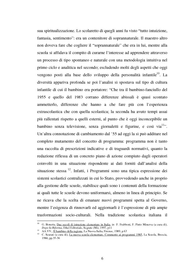 Anteprima della tesi: L'importanza del tirocinio nella scuola d'oggi, Pagina 6