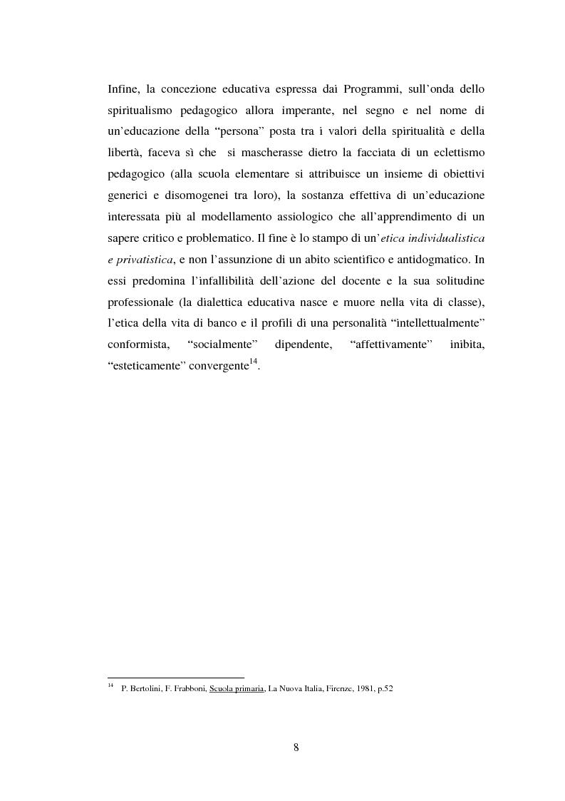 Anteprima della tesi: L'importanza del tirocinio nella scuola d'oggi, Pagina 8