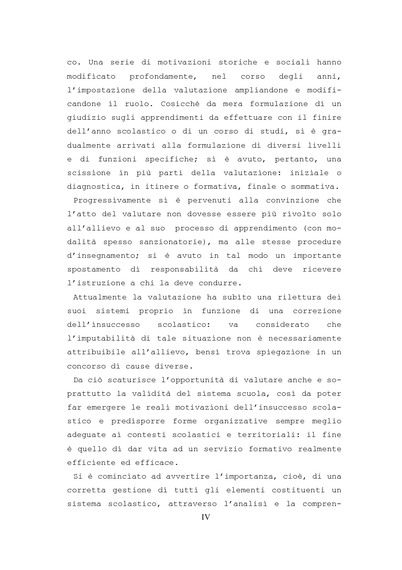 Anteprima della tesi: L'autovalutazione d'istituto, Pagina 2