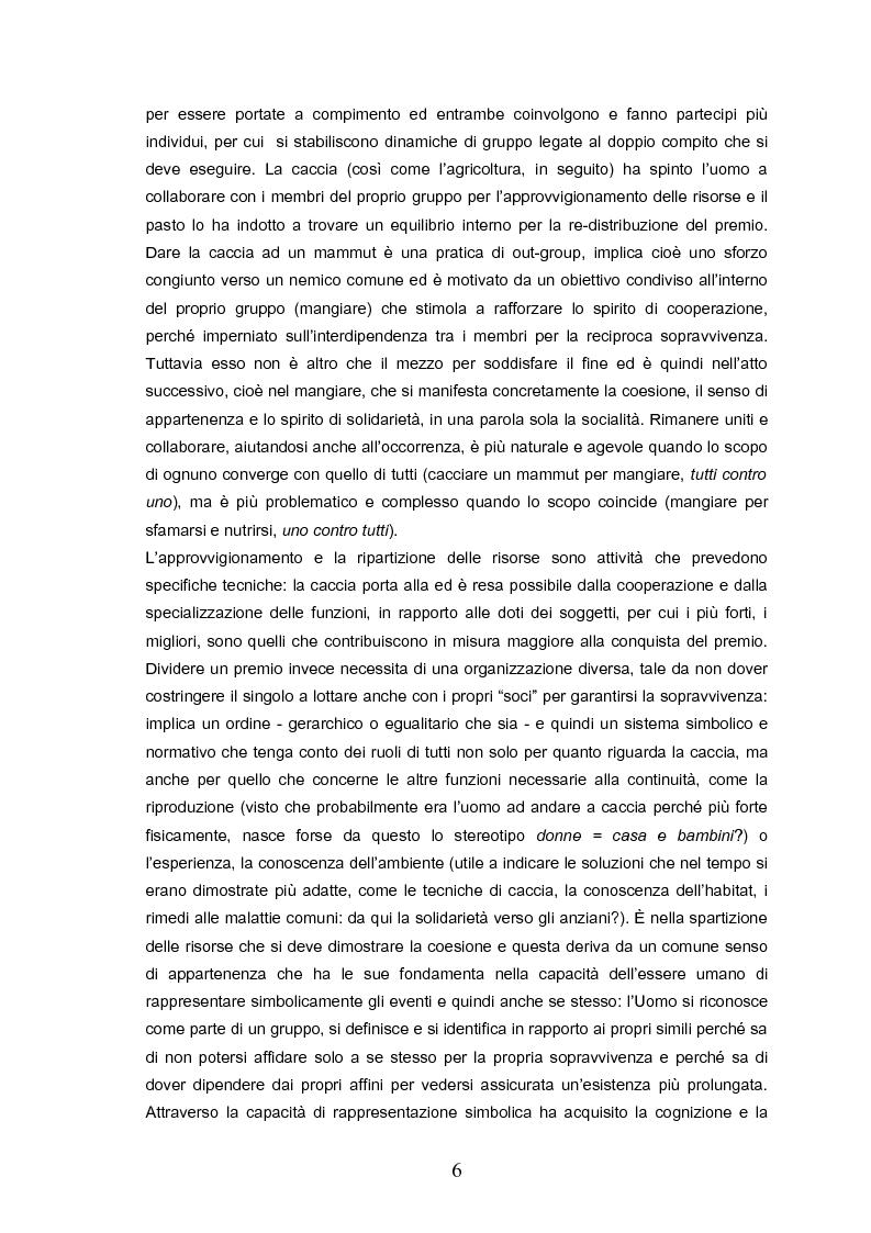 Anteprima della tesi: Indovina chi viene a pranzo. Strategie di riconoscimento della clientela nei ristoranti romani. Un approccio visuale., Pagina 2