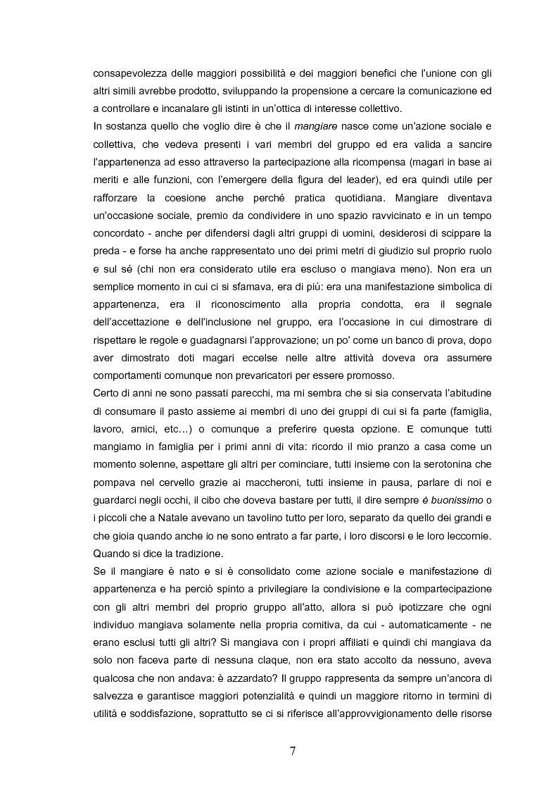 Anteprima della tesi: Indovina chi viene a pranzo. Strategie di riconoscimento della clientela nei ristoranti romani. Un approccio visuale., Pagina 3