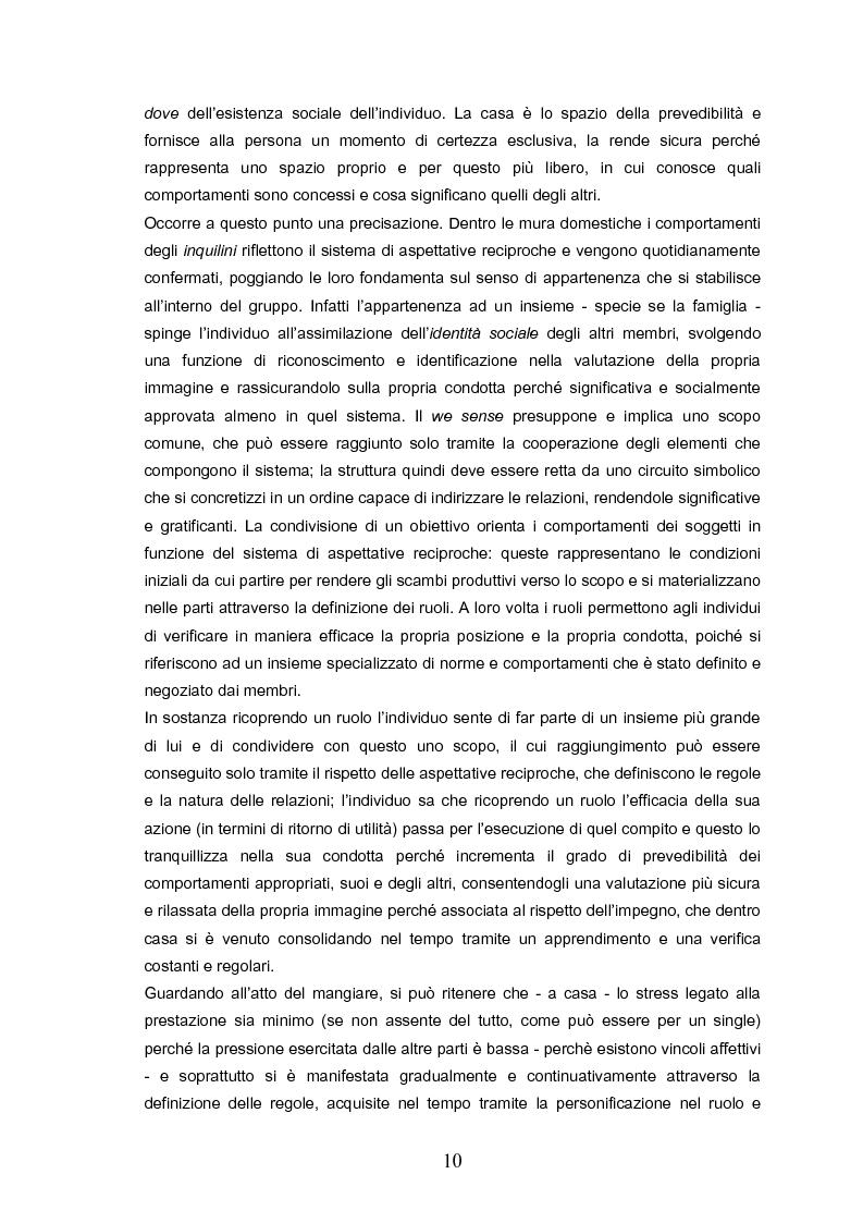 Anteprima della tesi: Indovina chi viene a pranzo. Strategie di riconoscimento della clientela nei ristoranti romani. Un approccio visuale., Pagina 6