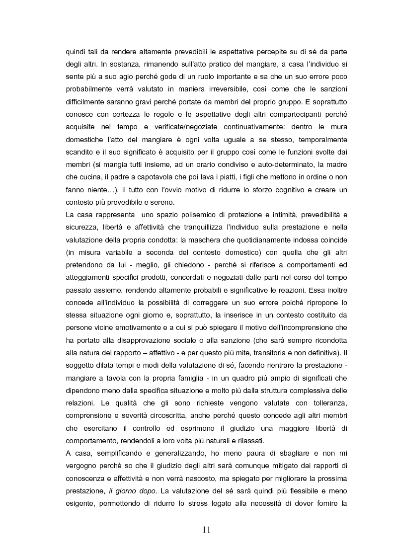 Anteprima della tesi: Indovina chi viene a pranzo. Strategie di riconoscimento della clientela nei ristoranti romani. Un approccio visuale., Pagina 7