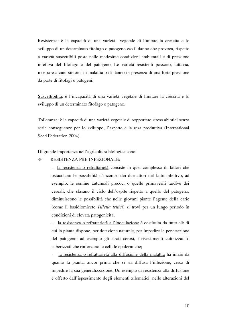 Anteprima della tesi: Prima ipotesi di controllo della qualità ambientale in aziende agribiologiche, Pagina 12