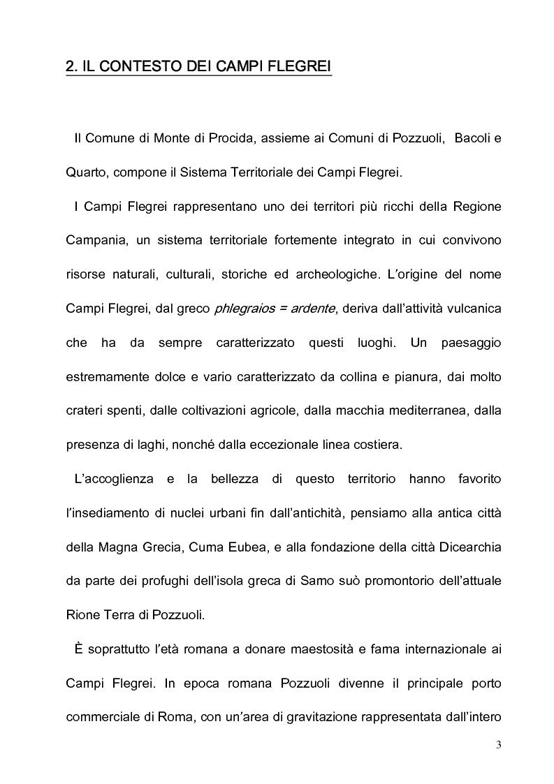 Anteprima della tesi: Progetto e riqualificazione in Via Panoramica Monte di Procida, Pagina 3