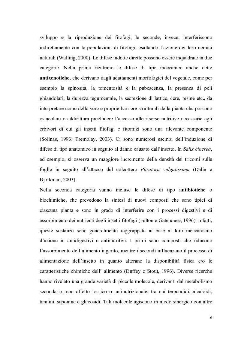 Anteprima della tesi: Profili di espressione di geni di difesa in genotipi di pomodoro, Pagina 4