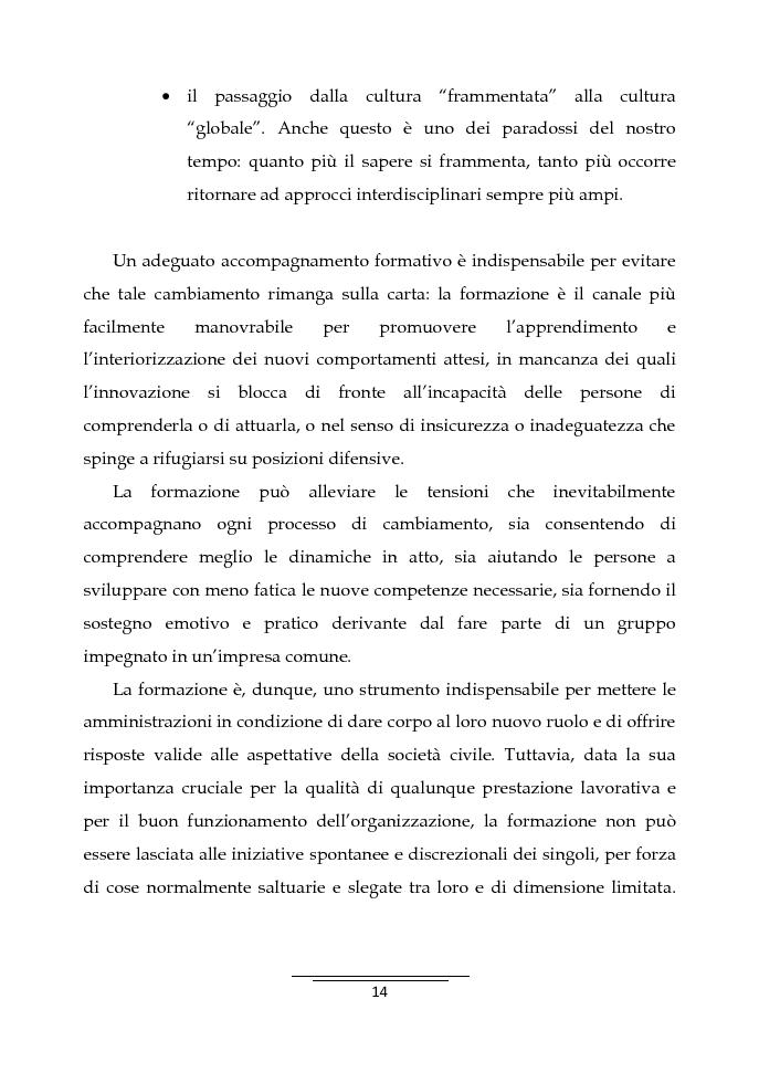 Anteprima della tesi: Il Business Game come strumento innovativo per la formazione delle persone nella Pubblica Amministrazione - Sviluppo di un'applicazione attraverso la Balanced Scorecard, Pagina 12