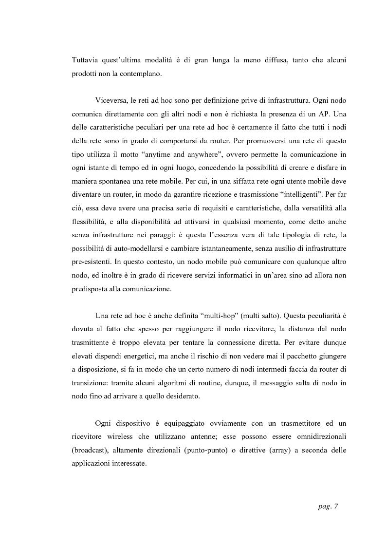 Anteprima della tesi: Tecniche di localizzazione per reti ''ad hoc'', Pagina 4