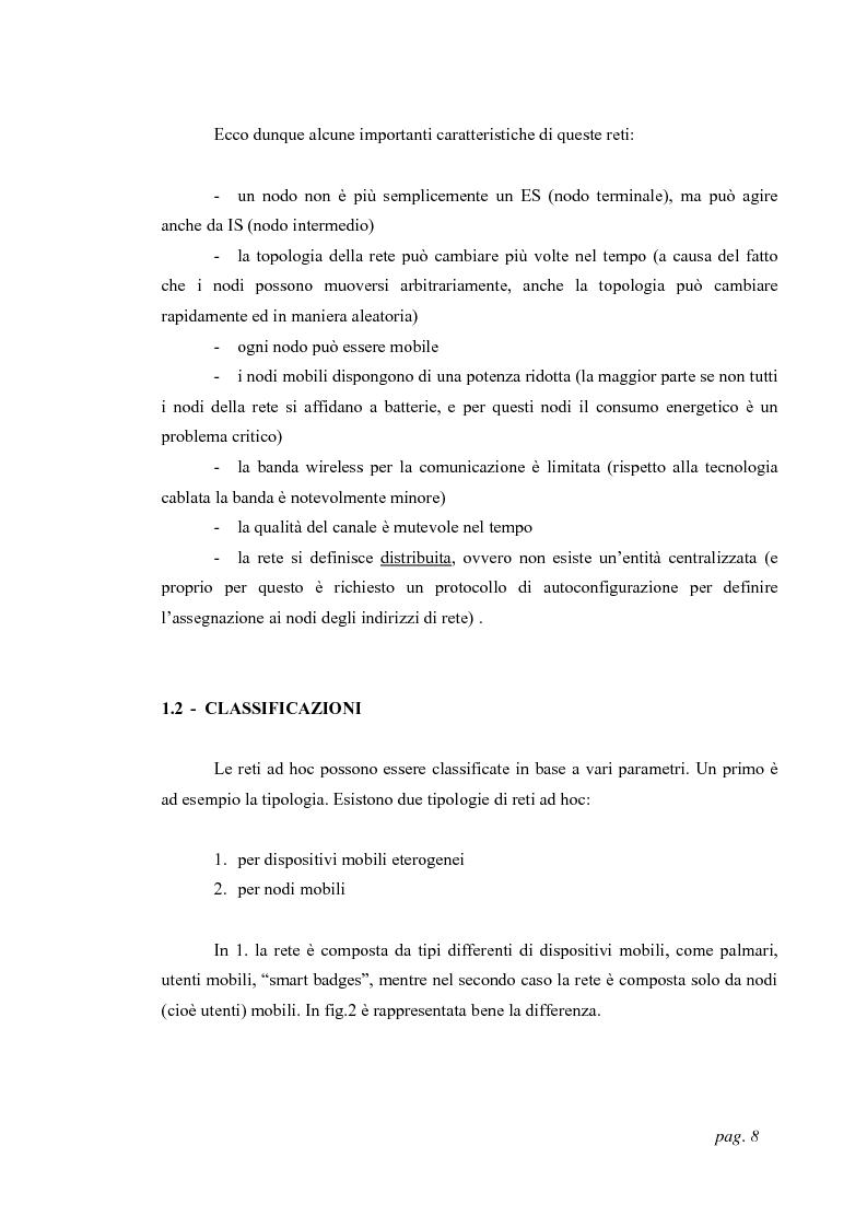 Anteprima della tesi: Tecniche di localizzazione per reti ''ad hoc'', Pagina 5